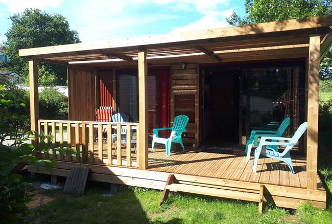 6 beds chalet camping Erquy Brittany